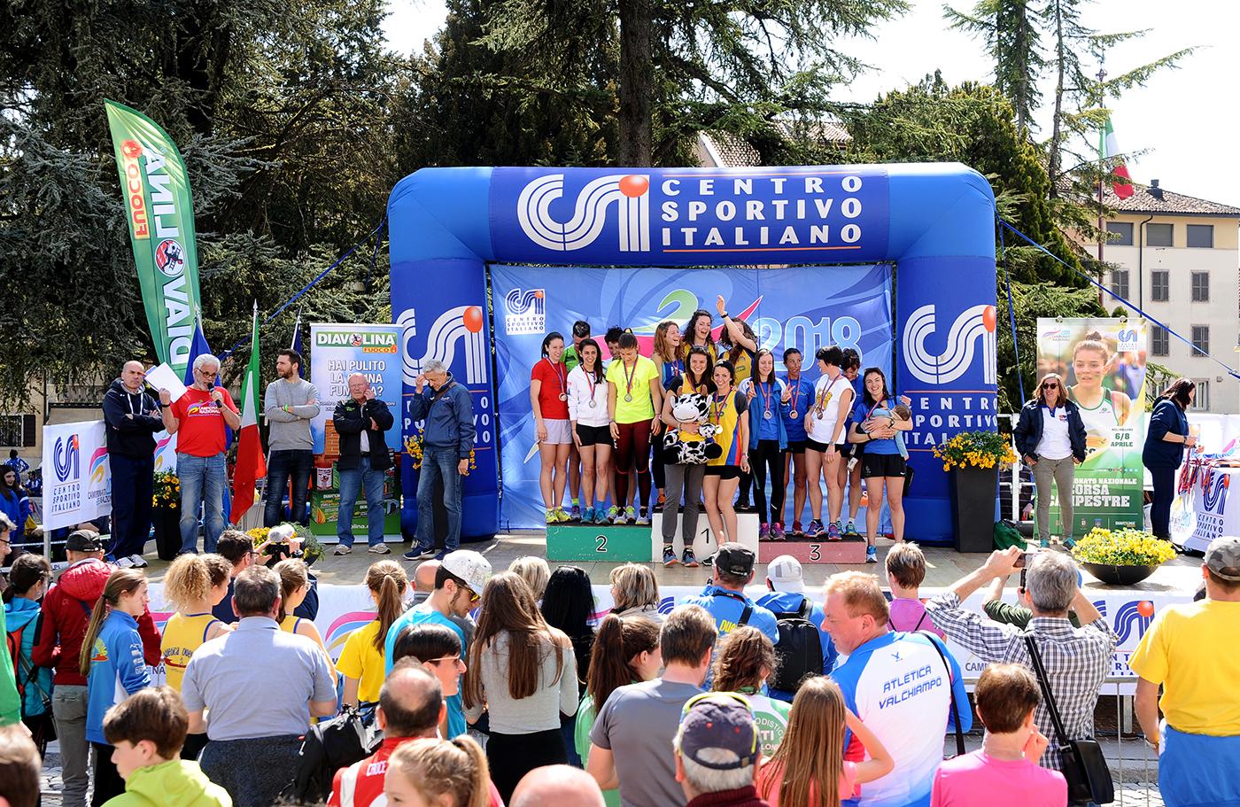 podio assoluto donne  2 posto BELLUNO A