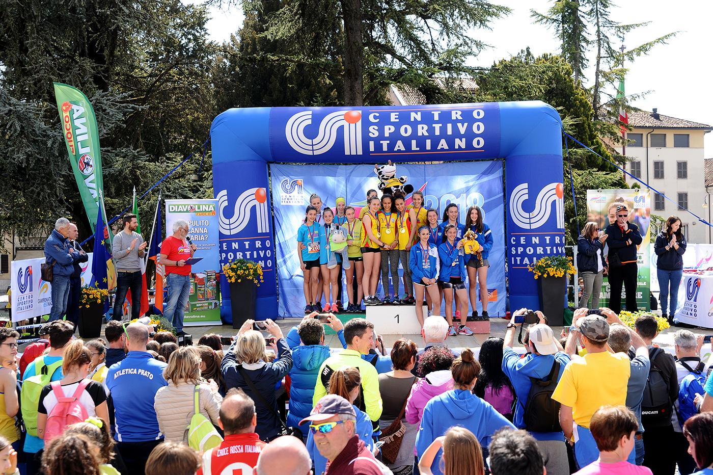 podio giovanile femminile – 2 posto BELLUNO A
