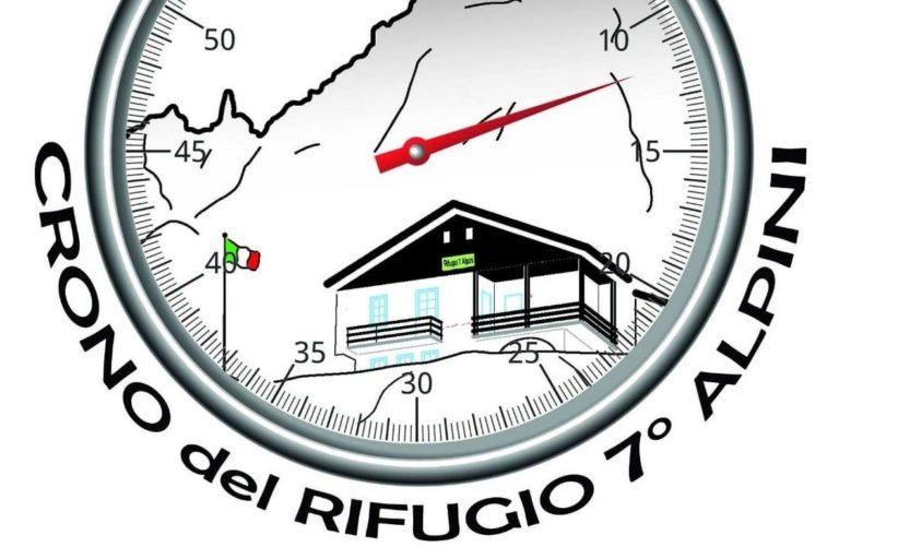 L'11 luglio la Crono rifugio 7° Alpini