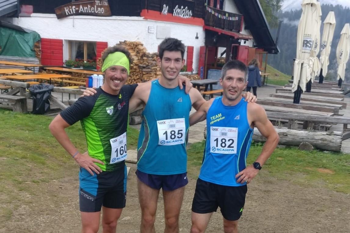 Pozzale - rifugio Antelao, vincono Costa (con record) e Da Rin Zanco