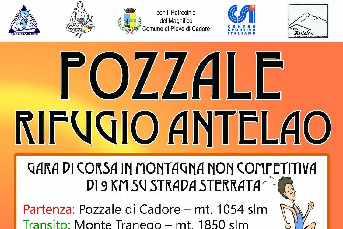 Domenica 3 ottobre la Pozzale - Rifugio Antelao